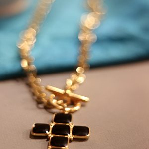 enamel cross